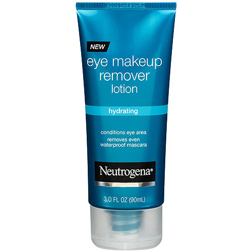 Neutrogena Hydrating Eye Makeup Remover Lotion, 3 fl oz