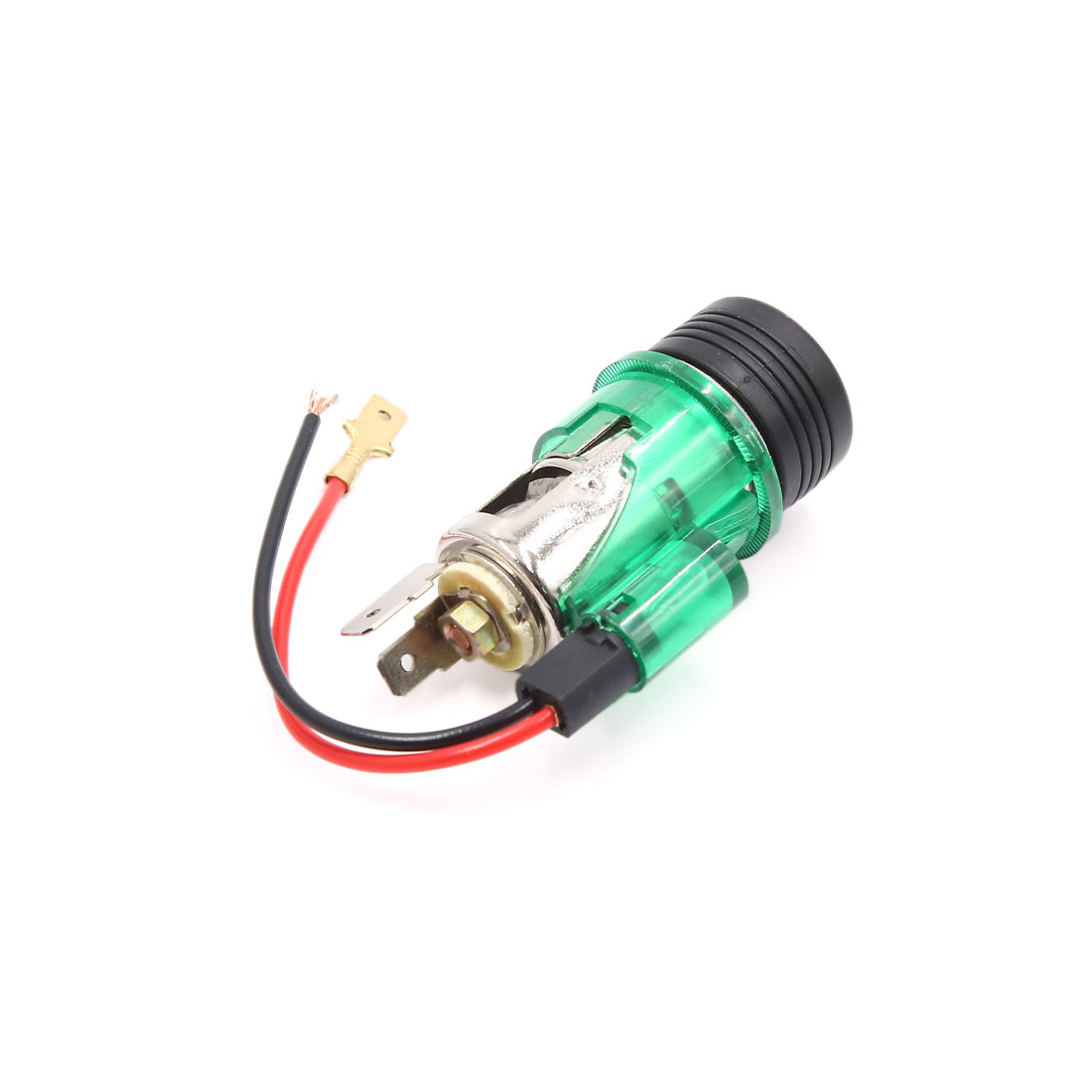 Dc 12v Auto Car Cigarette Lighter Socket With Led Charger Power Adapter Wiring On Plug