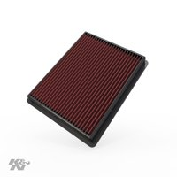 K&N Engine Air Filter: High Performance, Premium, Washable, Replacement Filter: 1999-2017 Chevrolet/GMC/Cadillac Truck and SUV V8, 33-2135