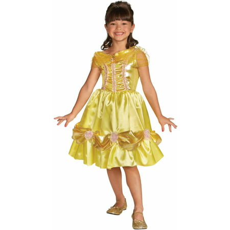 Belle Sparkle Child Halloween Costume - Belle And The Beast Halloween Costumes