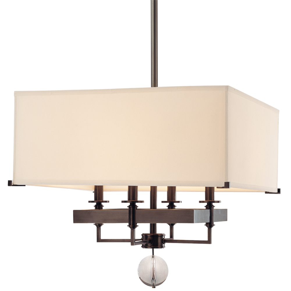 Hudson Valley 5645-OB 4 LIGHT CHANDELIER