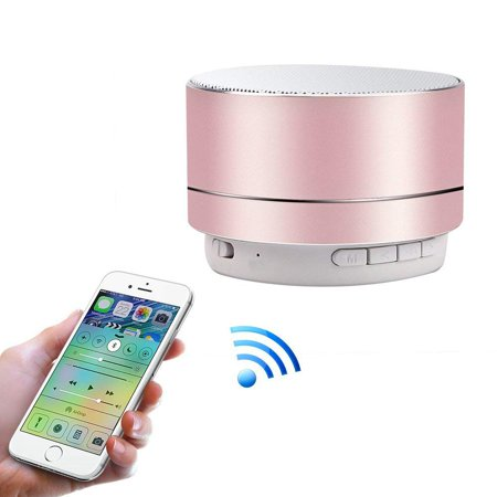 GLiving Portable Outdoor Wireless Bluetooth Speaker Waterproof With FM radio, Micro SD card Slot, AUX, TWS for Shower - Gift Box
