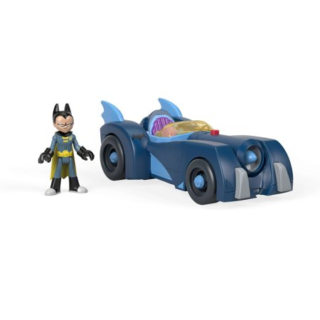 Imaginext Teen Titans Go! Robin & Batmobile - Teen Titan Robin