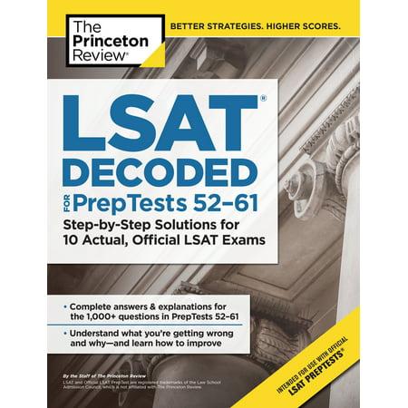 Lsat study aids reviews