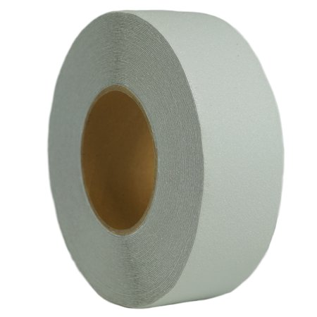 Slip Safety Tape - 1 in x 60 ft Clear Anti Slip Safety 60 Grit Non Slip Tape Highest Traction