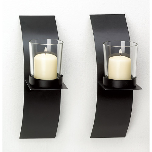 Zingz & Thingz Contemporary Candle Sconce by Zingz & Thingz