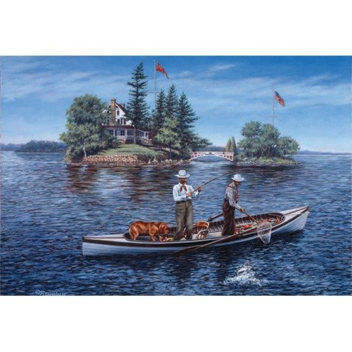 Cobble Hill Puzzle Company Shore Lunch on The Line - 1000 Piece Puzzle
