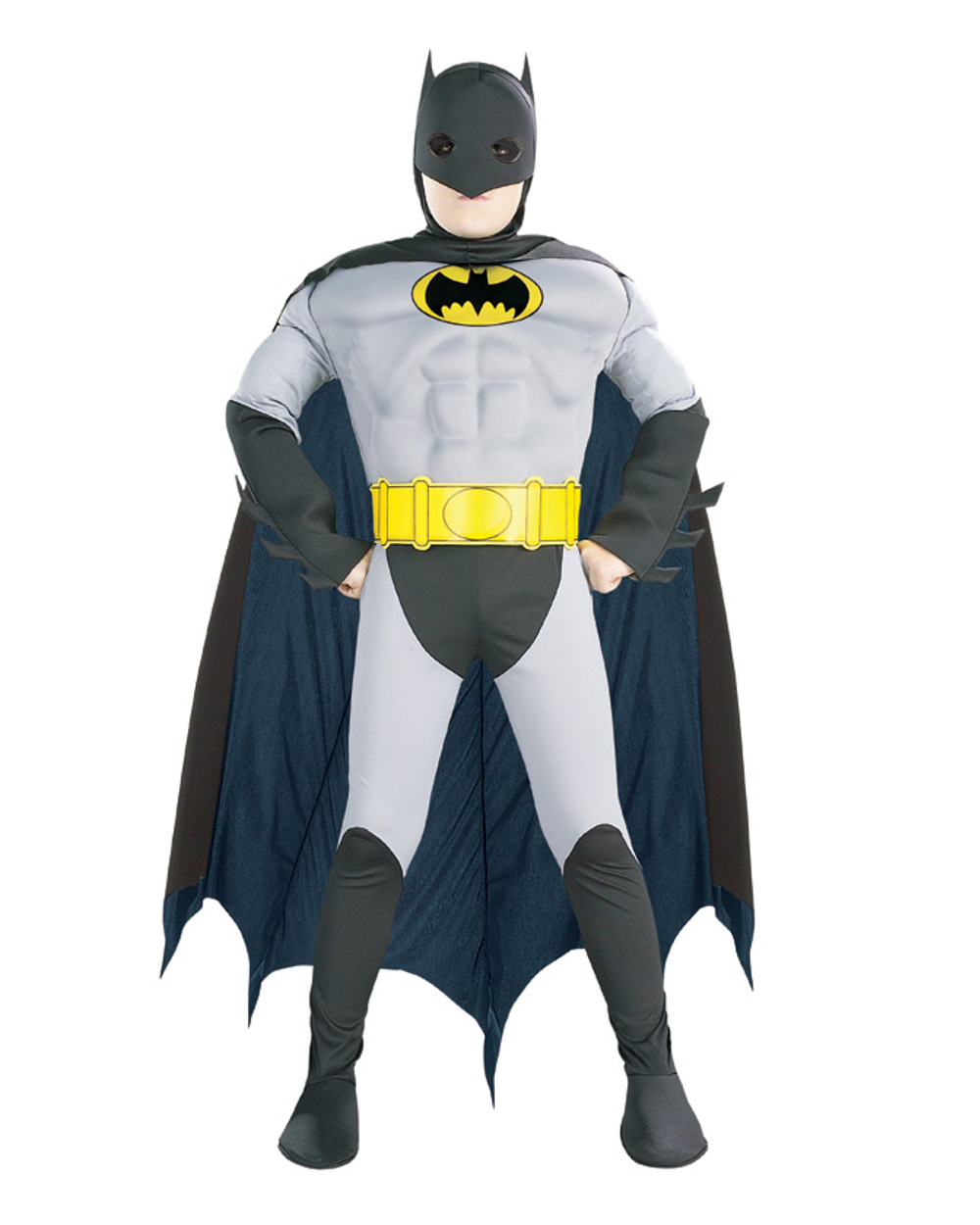 batman muscle chest child halloween costume - walmart
