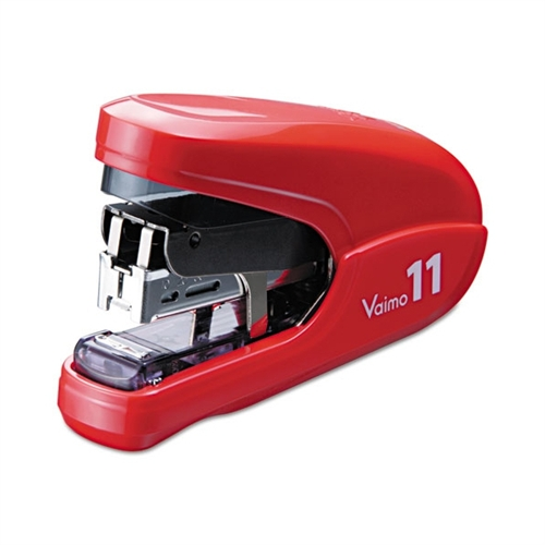 Max USA Flat Clinch Light Effort Stapler, 35-Sheet Capacity, Red HD92321