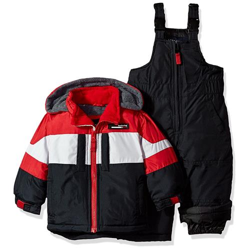 London Fog Boys 12-24 Months Snow Bib Jacket Snowsuit (Re...