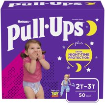 Huggies Pull-Ups Girls' Night-Time