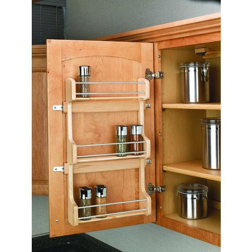 Rev-A-Shelf  4SR-18  Spice Racks  4SR  Upper Cabinet Organizers  tural Wood