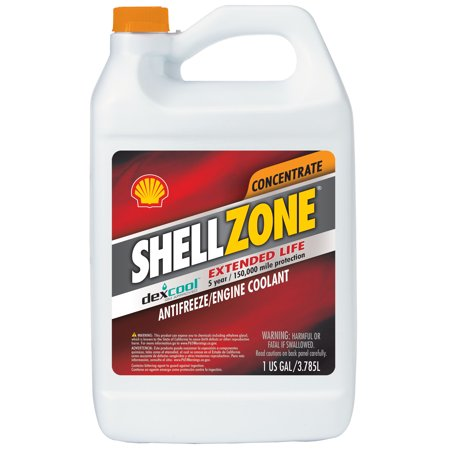 Shell Zone Antifreeze and Engine Coolant Concentrate - 1