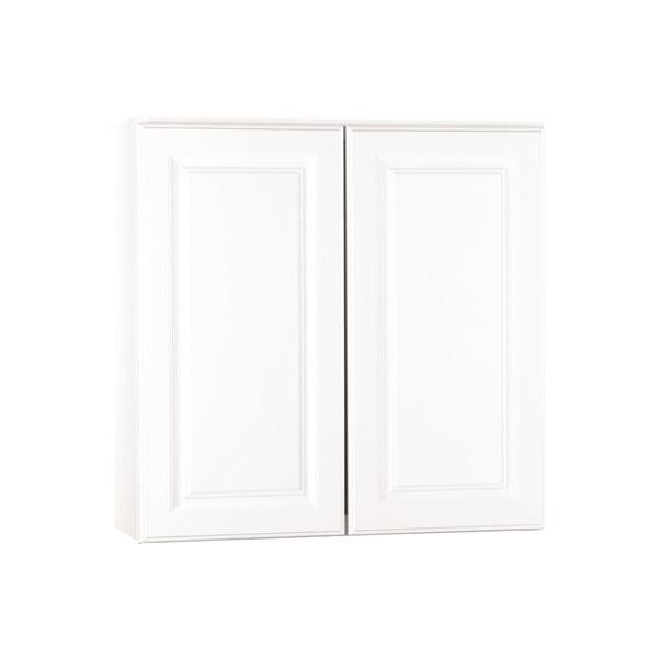 Rsi Home Products Kitchen Wall Cabinet Fully Assembled Raised Panel White 30x30x12 In 2478271 Walmart Com Walmart Com