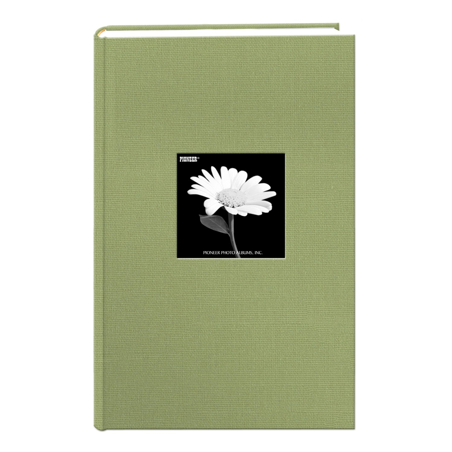 Pioneer 300 Pocket Fabric Frame Cover Photo Album Sage Green