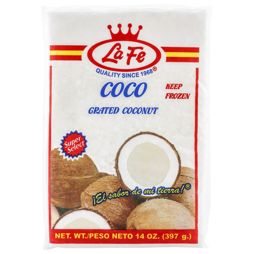 La Fe Grated Coconut, 14 oz