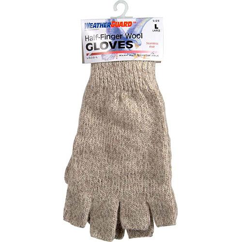 Danielson Half-Finger Wool Gloves, Large