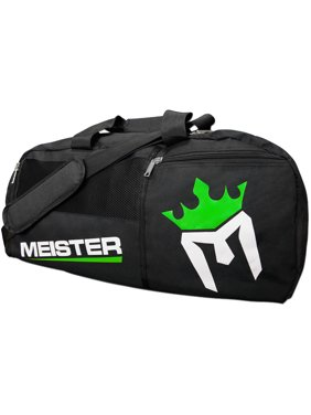 Product Image Meister Gym Bag Vented Convertible Backpack Duffel - Black 30b255c1ece3c