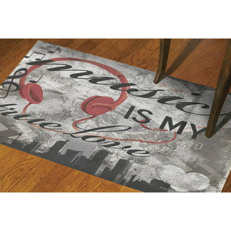 Music Rug (IDG Music is My True Love Rug)