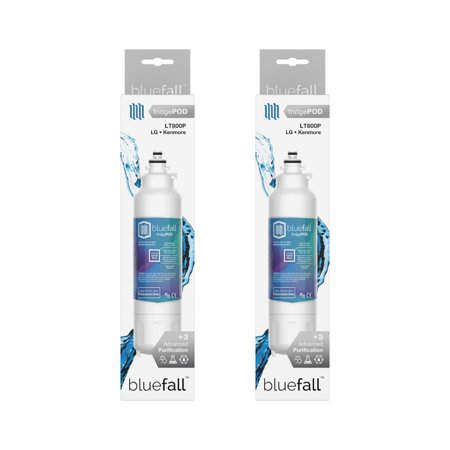LG LT800P Refrigerator Water Filter. Compatible Replacement Refrigerator Water Filter for LG LT800P by Bluefall - VALUE PACK 2 Refrigerator Water Filter. LG Water Filter for LG LT800P Compatible Replacement Refrigerator Water Filter by Bluefall . Enjoy delicious filtered water for your refrigerator water filter, using Bluefall upgraded technology. The perfect fit Guaranteed.