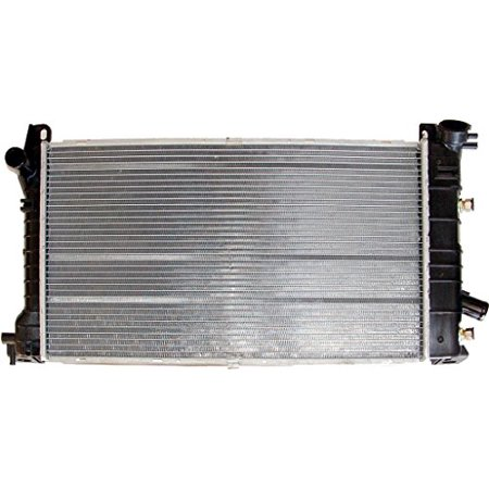 Radiator - Pacific Best Inc For/Fit 880 84-91 Ford Tempo Topaz 81-90 Escort 4cy Automatic Transmission Plastic Tank Aluminum Core