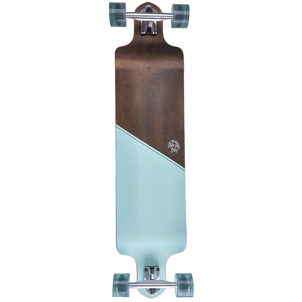 "Ten Toes Drop 41"" Drop-Down Longboard by Ten Toes Boards"