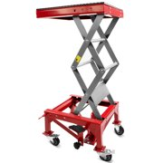 300lb Motorcycle Hydraulic Scissor Floor Jack Lift | Wide Deck Center Stand ATV by XtremepowerUS