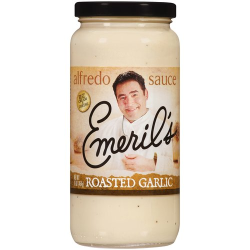 Emeril's Roasted Garlic Alfredo Sauce, 16 oz