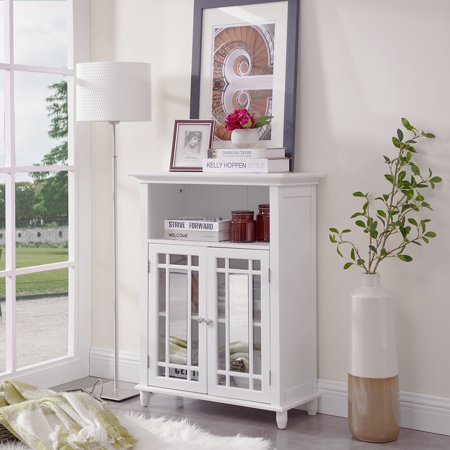Circlelink Modern Floor Storage Cabinet for Living Room/Bathroom, (Floor To Ceiling Cabinets For Living Room)