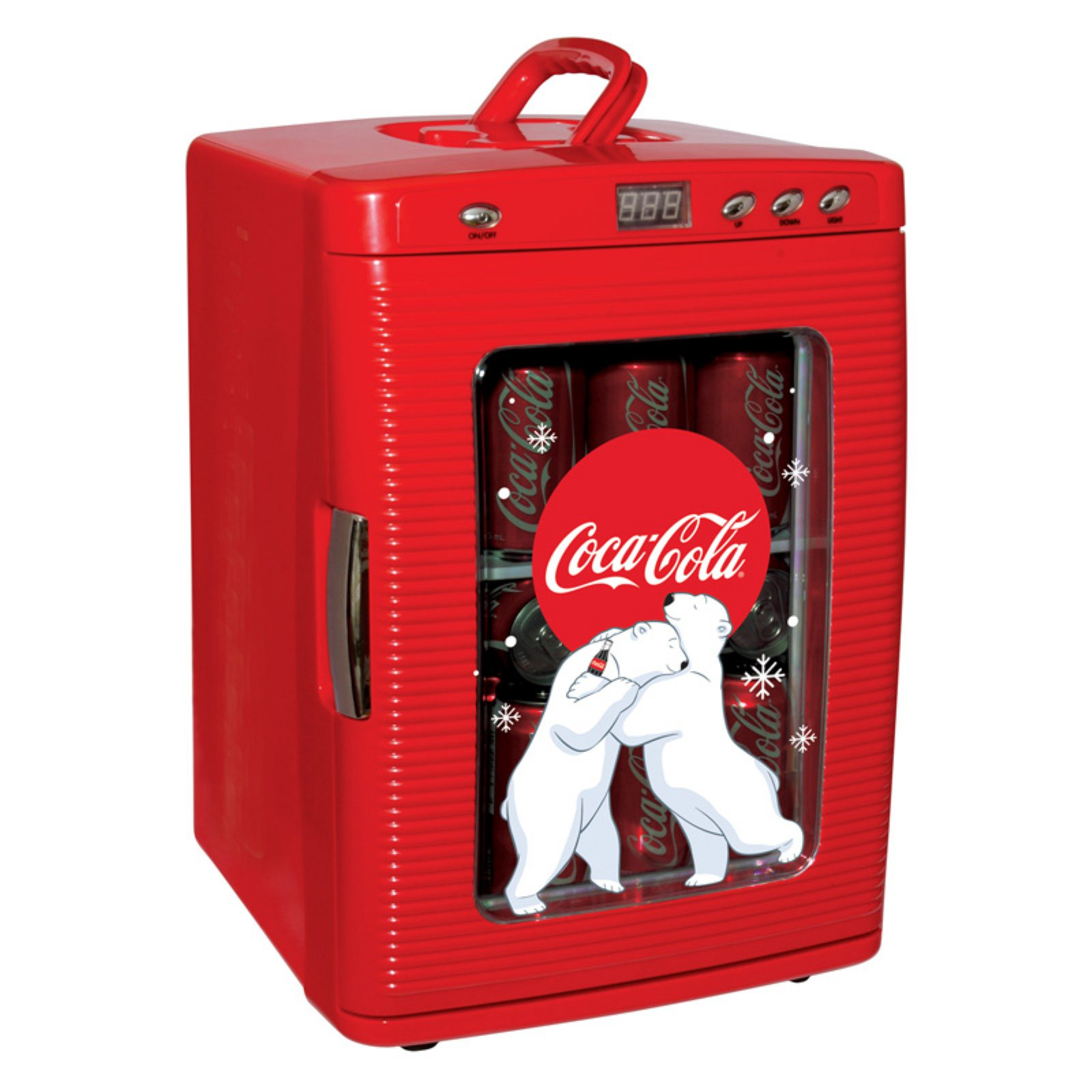 Koolatron Coca-Cola 28 can Compact Countertop Electric Beverage Cooler KWC25, Red