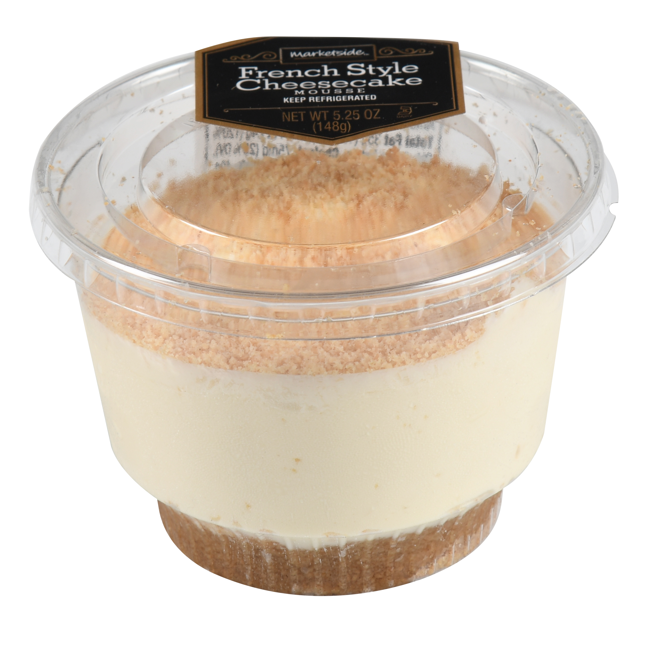 Marketside French Style Cheesecake Mousse Dessert Cup, 5.25 oz