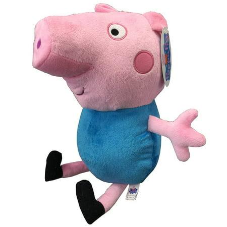 Peppa Pig Doll (Plush - Peppa Pig - Geroge 17.5