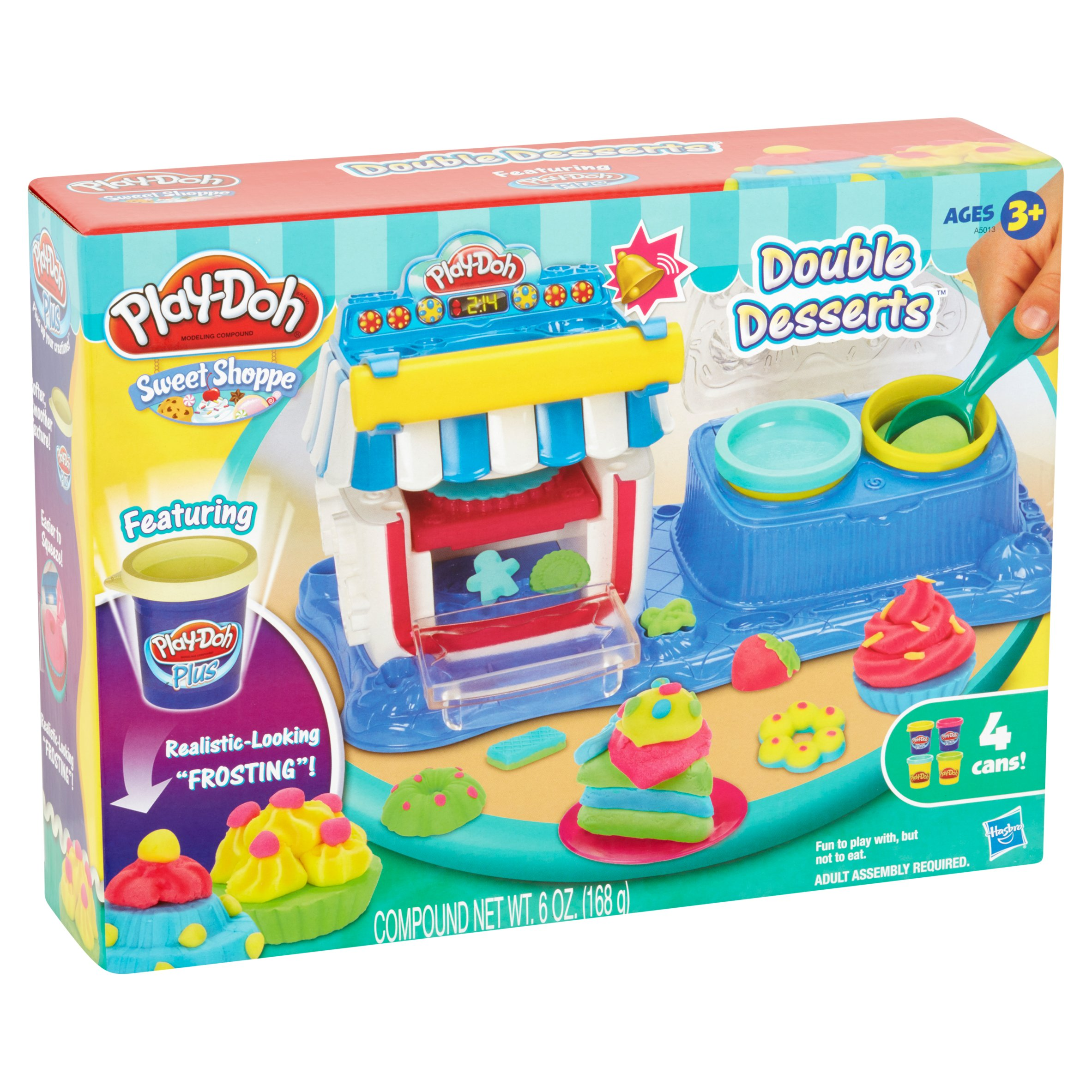 Play-Doh Sweet Shoppe Double Desserts Food Set