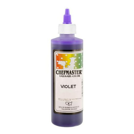 Chefmaster by US Cake Supply 10.5-Ounce Violet Liqua-Gel Cake Food Coloring](Purple Food Coloring)