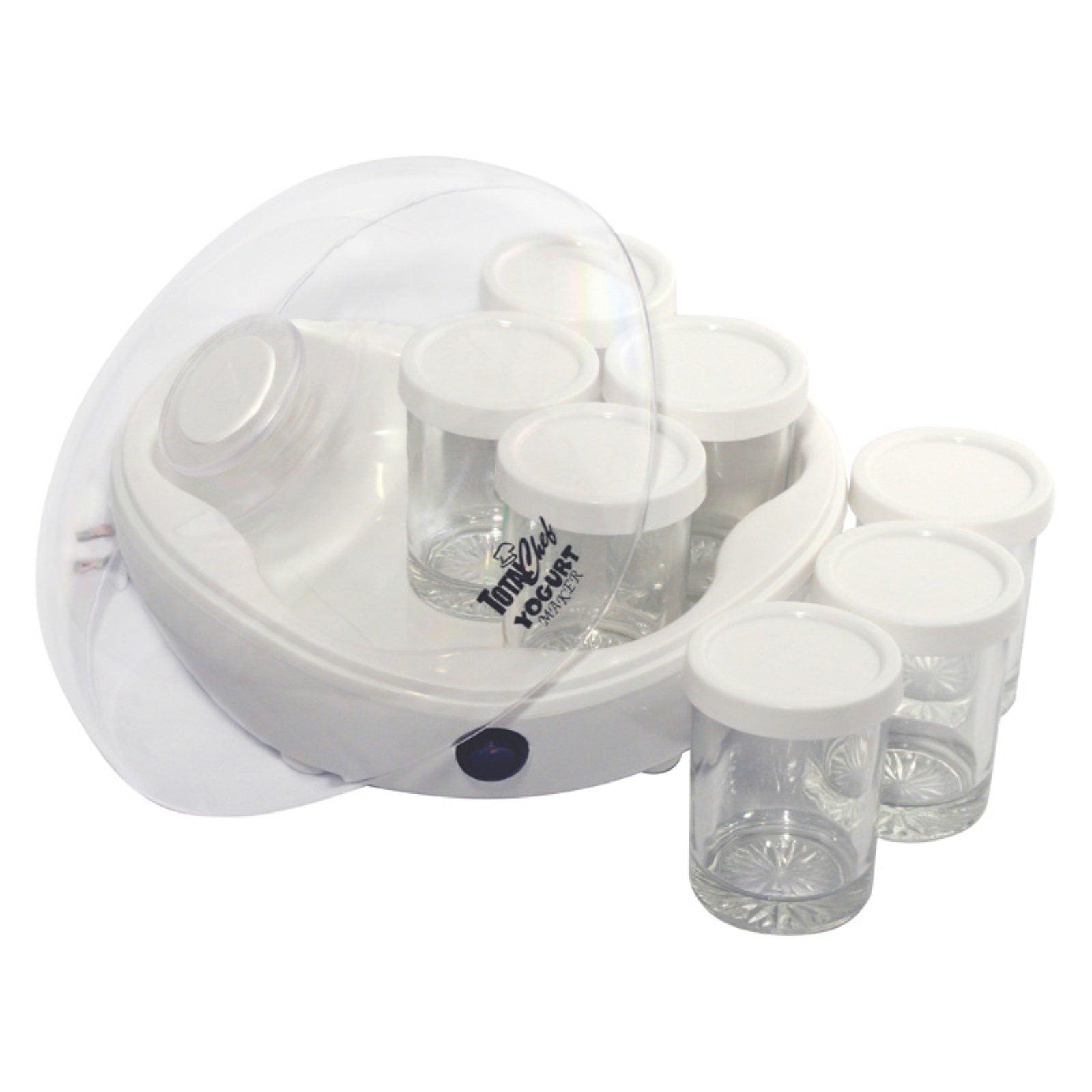 total chef yogurt maker 7 jars walmart com rh walmart com Yogurt Maker Machine Dash Yogurt Maker