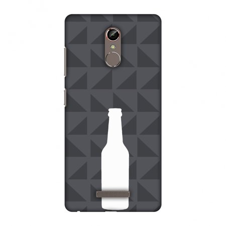 Gionee S6s Case, Premium Handcrafted Designer Hard Shell Snap On Case Printed Back Cover with Screen Cleaning Kit for Gionee S6s, Slim, Protective - Beer and pattern - Burnt
