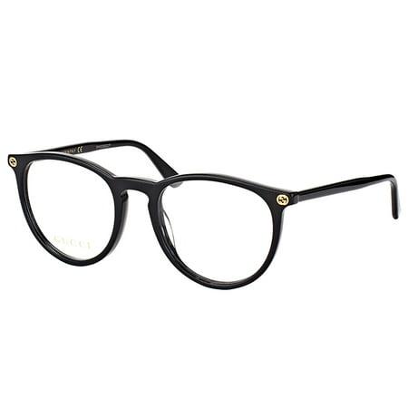 Gucci GG0027O 001 Women's Round Eyeglasses