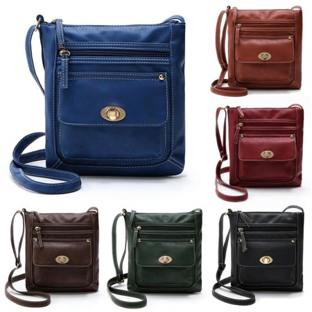 Handbag Net - New Women Leather Messenger Bag Casual Travel Handbag Tote Satchel Cross body Shoulder Bag