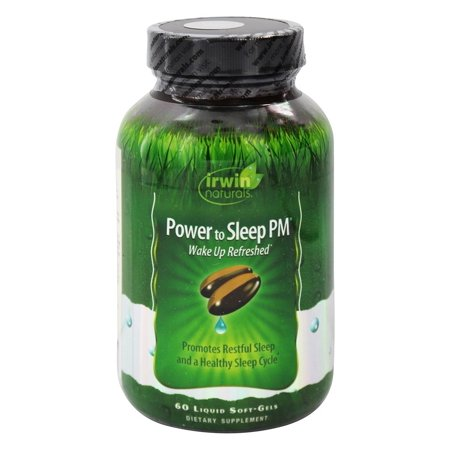 Irwin Naturals Power to Sleep PM Supplement, 60