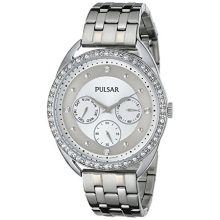 - Pulsar Women's PP6177 Analog Display Japanese Quartz Silver Watch
