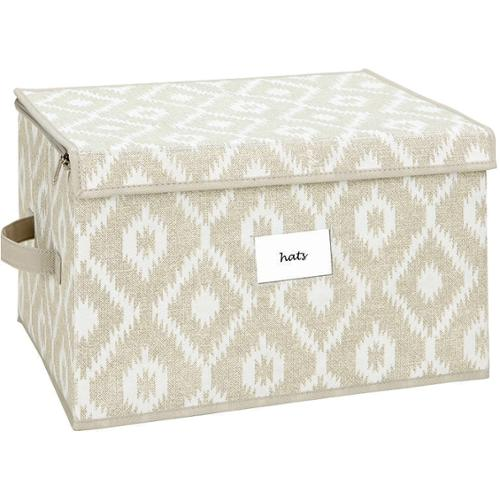 The Macbeth Collection Large Zippered Storage Box in India Faux Jute  sc 1 st  Walmart & The Macbeth Collection Large Zippered Storage Box in India Faux Jute ...