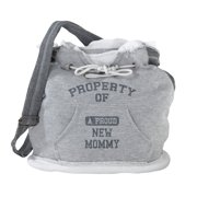 Lillian Rose Property of Mommy Diaper Bag, Grey