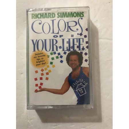 Richard Simmons Colors of Your Life Cassette Tape1998- Cassette Ships N 24hrs ()