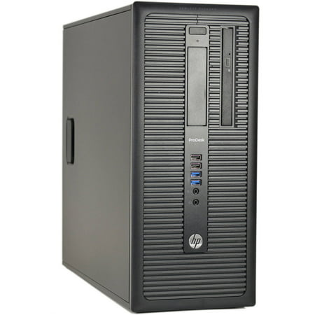 Refurbished HP 600 G1-T Desktop PC with Intel Core i7-4790 Processor, 8GB Memory, 2TB Hard Drive and Windows 10 Pro (Monitor Not