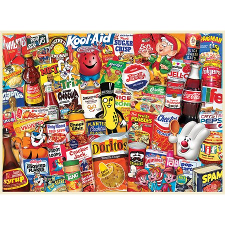 Moms Pantry 1000 Piece Jigsaw Puzzle Measures 19.25