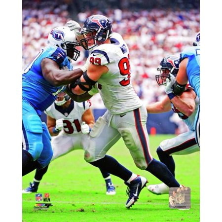 JJ Watt 2013 Action Photo Print - Jj Watts Halloween