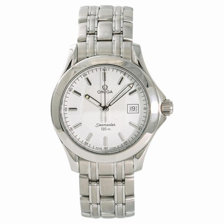Pre-Owned Omega Seamaster 196.1501 Steel Watch (Certified Authentic & Warranty)