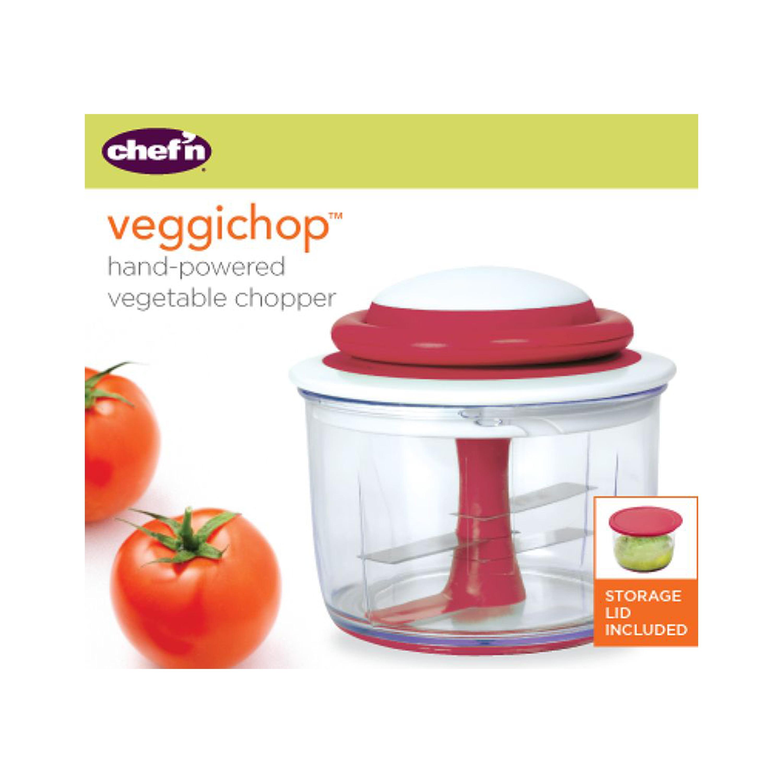 FA Onion Chopper Pull Cord String Manual Vegetable Blender Food Dicer Mixer Cha