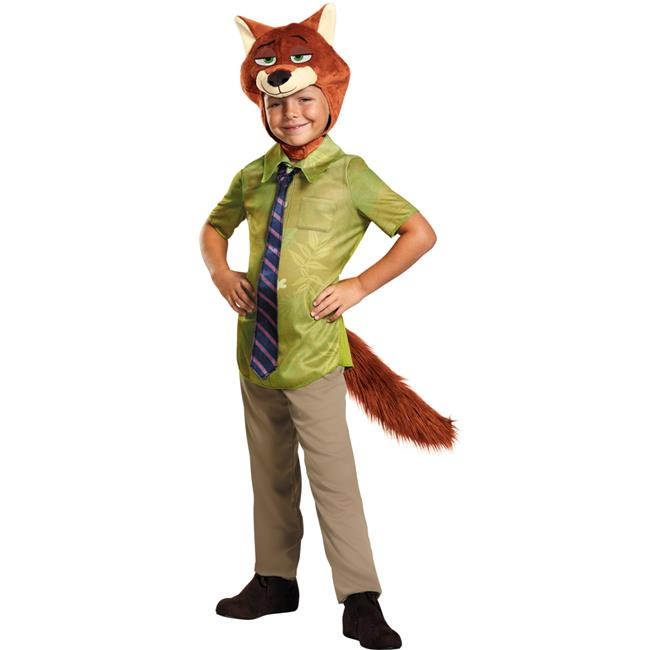 Morris Costumes DG99838M Zootopia Nick Wilde Toddler Costume, Size 3-4 Tall - image 1 of 1