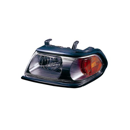 Replacement Driver Side Headlight For 00-15 Mitsubishi Montero MR496353